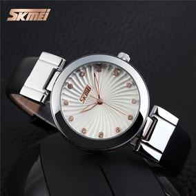 Relógio Feminino Skmei 9086 Preto (leia O Anúncio)