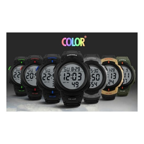 a771739b9e2 Relógio Militar Digital Skmei Várias Cores Esportivo - Relógios De ...
