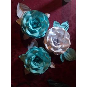 Flores Y Rosas De Papel
