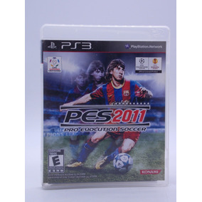 Pes 2011 Play Station 3 Original Mídia Física