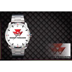 42fc6a0e5a7 São Paulo · Relógio De Pulso Personalizado Logo Massey Ferguson Maquinas
