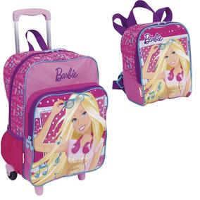 1b8a8bc931 Kit Mochila G Barbie 16m Plus Sestini + Lancheira Original