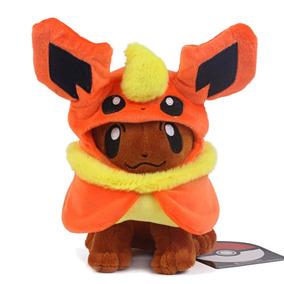 Flareon - ¿centro Pokemon Eevee Poncho Vaporeon Umbreon-2905