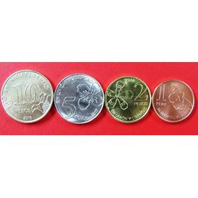 Argentina Nuevas Monedas 1/2/5y10 Pesos 2018 - Arboles - Fdc