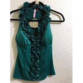 Blusa Heart Soul S Verde Muy Hermosa No Gucci Lv adidas Mk