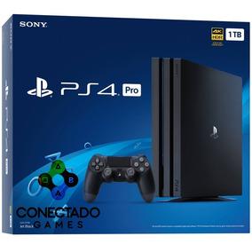 Console Ps4 1tb Pro Playstation 4 Pro 1tb 7215b Pode Retirar