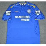 Camisa Chelsea Lampard - Camisa Chelsea Masculina no Mercado Livre ... 7502b6fb48ea3