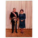 Augusto Pinochet Fotografia Con Dedicatoria Y Firmada