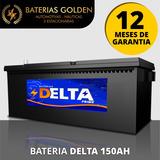 Bateria Delta Prime 150ah - Garantia - Nf-e - 12x S/ Casco