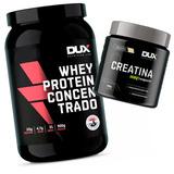 Combo Dux - Whey Protein Concentrado + Creatina Creapure