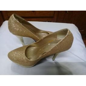 Hermosos Zapatos Tacones Mix N6 Glitter Cristales Negros!! Usado - Sonora ·  Hermosas Zapatillas Glitter No 23 A 23 Ymedio c236239916ac