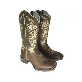 b3aa3e3e8 Bota Texana Feminina Barata - Sapatos para Feminino Bege no Mercado ...
