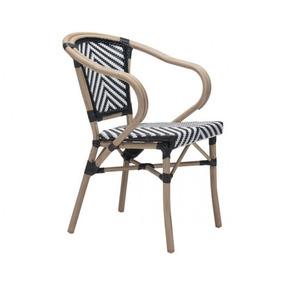 Silla Para Jardin Modelo Paris Con Brazos Këssa Muebles