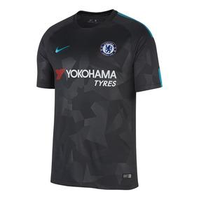 Remera Nike Chelsea Stadium Negro Hombre