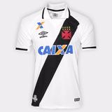 Camisa Torcedor Vasco Da Gama 2 - 2017 S nº - Branco E Preto fc5b37f67d33c