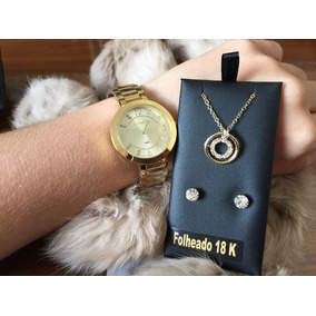 Relógio Lince Feminino Lrg4516l Ku72 Com Brinde