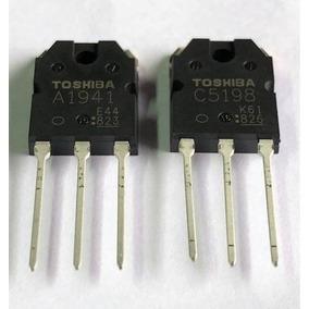 20 Pares Transistor 2sa1941-2sc5198 Toshiba Frete Grátis