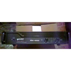 Power Amplificador Gemini Xga-4000