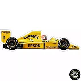 Adesivo Nelson Piquet Camel Lotus 101 F1 Formula 1 Carros