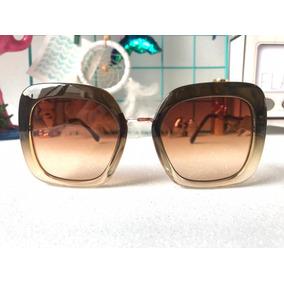 Oculos De Sol Feminino Degrade Grande - Óculos no Mercado Livre Brasil 4bed287c29