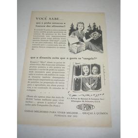 bb585de6b2a L - 290  Pbmk750 Propaganda Antiga Indústria Du Pont