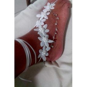 Sandália Pés Descalços Para Noivas