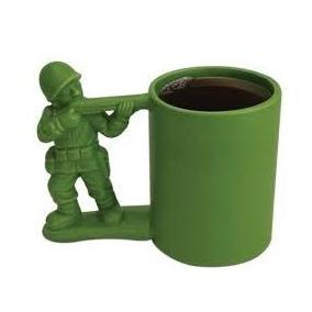 Taza De Ceramica En Forma De Soldado Toy Story + Regalo