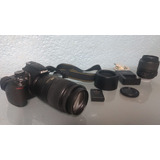 Nikon D3100 Réflex Digital + Lentes 18-55 Y 55-300