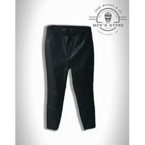 56fad981ef8 Calça Couro Leather Preto Skinny Feminina Zara Europa