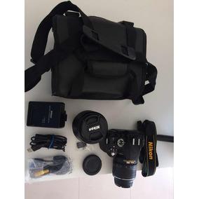 Câmera Nikon D5100 Com Duas Lentes (18-55mm E 70-300mm)