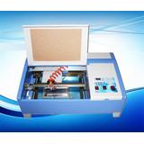 Maquina Cortadora Grabadora Laser Co2 40w 30x20 Sellos