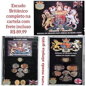 Escudo Britânico Na Cartela