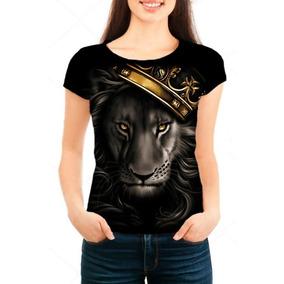 Camiseta Babylook Feminina Rei Leão Face - Estampa, Promoção