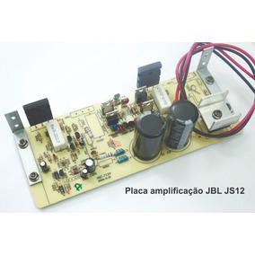 Placa De Amplificação Caixa Jbl Js12a Completa.