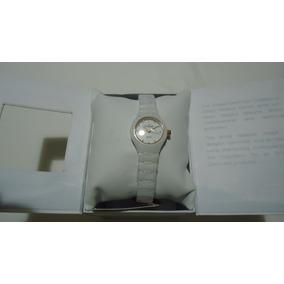 Reloj Skagen Swarovski Ultra Slim Blanco Ceramic