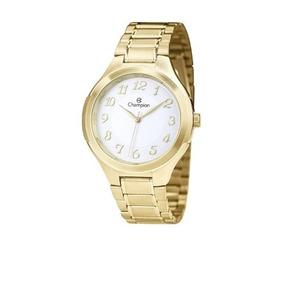 e0996516685 Relogio Em Aco Escovado Dourado - Relógios no Mercado Livre Brasil