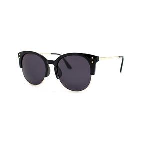 f879b46f52db2 Óculos De Sol Feminino Preto Importado Us Proteção 400 Uv