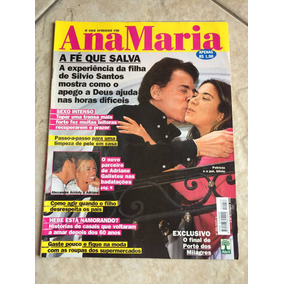 Revista Ana Maria 256 Silvio Santos Patrícia Abravanel