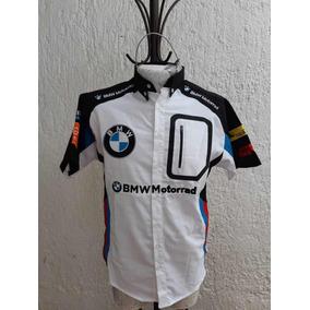 Camisa Bmw Escudería F1 Carrera Autos Talla Grande e2a6ed8369d39