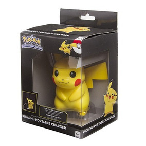 Pokemon Pikachu Cargador Portatil Usb Thinkgeek Original
