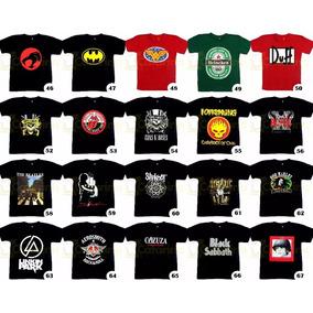 Camiseta Personagem Banda De Rock Games Super Heróis 9df7cf84b09