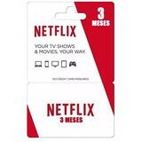 Cartao Pre-pago Presente Netflix R$16. Reais! 3mês!
