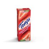 Kit 10 Bebida À Base De Soja Tonyu Sabor Morango 200ml