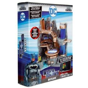Batcaverna Batman E Robin Metals Die Cast Mano Scene Com Luz