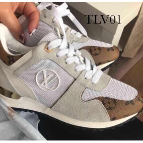 Tenis Louis Vuitton Feminino/masculino Couro