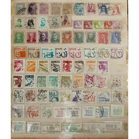 Conjunto 1 -selos Brasil Antigos