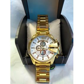 0a14638f74c Relogio Diesel Dourado Dz4268 Masc Masculino - Relógios De Pulso no ...