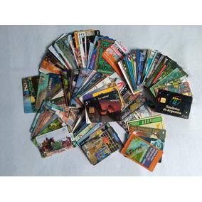 Lote 110 Cartões Telefônicos Antigos Estrangeiros - Usados