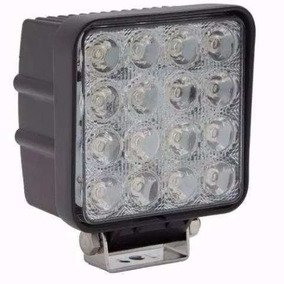 Faro Reflector Led 4x4 Off Road 48w 12 A 24v Camion X2