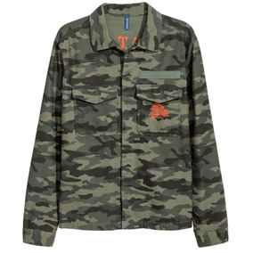 Chamarra Camo Ligera Camiseta Kanye West Supreme Yves Saint